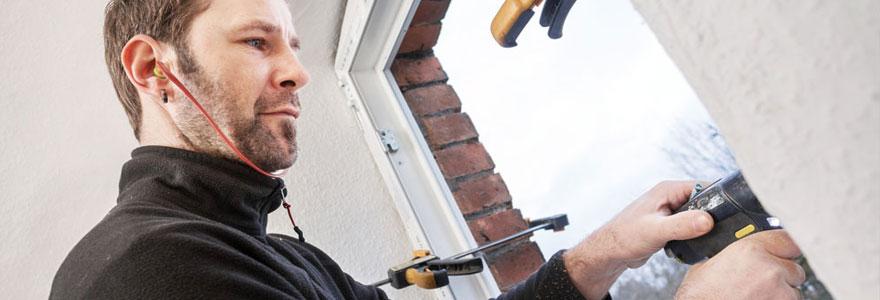 travaux de pose ou de rénovation de fenêtres